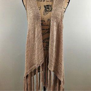 Anthropologie shawl sweater/vest